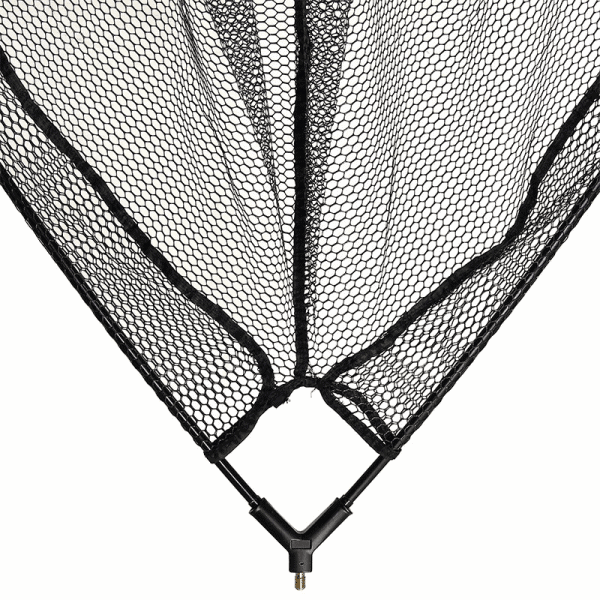 """NGT 42"""" Specimen Rubber Net - Quick Dry Rubber with Metal 'V' Block and Stink Bag"""