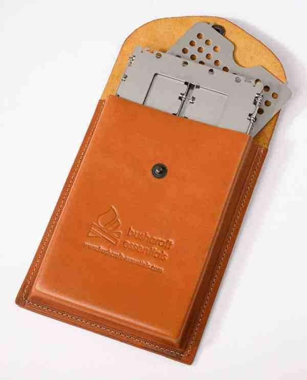 Bushbox leather pouch XL