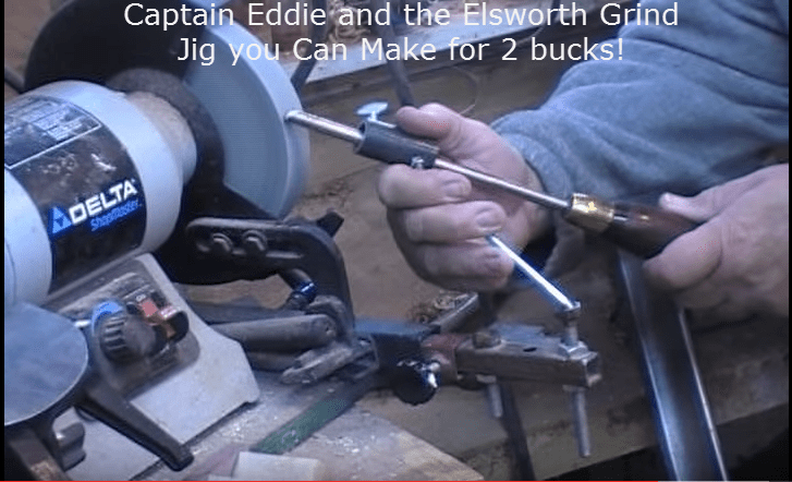 Two Dollar Sharpening Jig by Cap'n Eddie Castelin