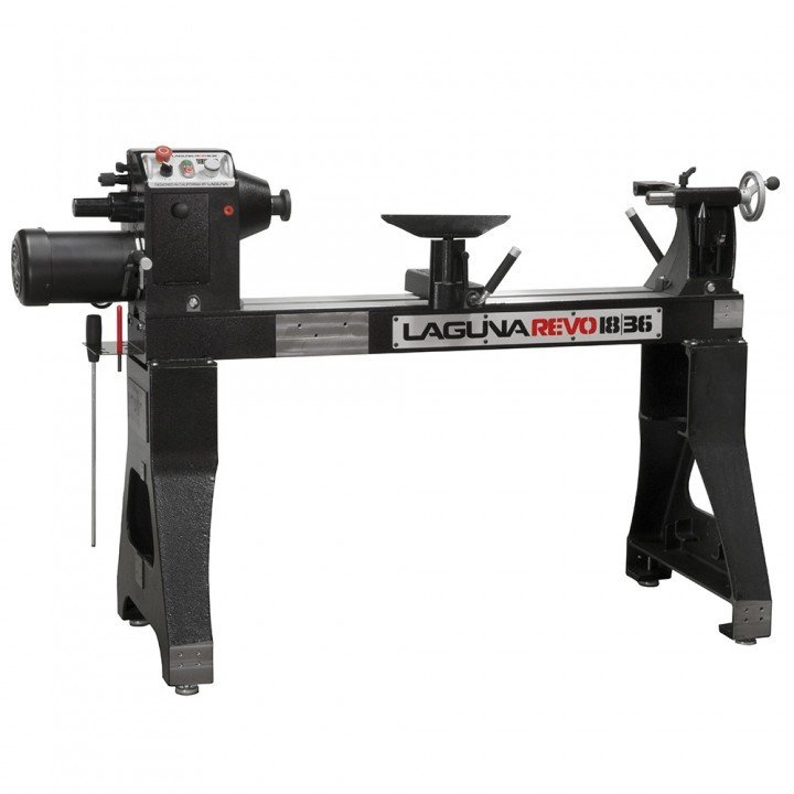 Reviewing The Laguna Revo 18|36 Woodturning Lathe