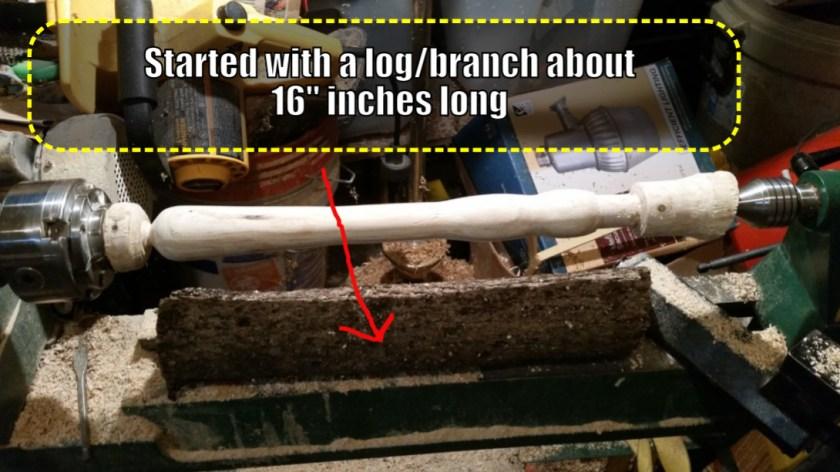 woodturning tool handle
