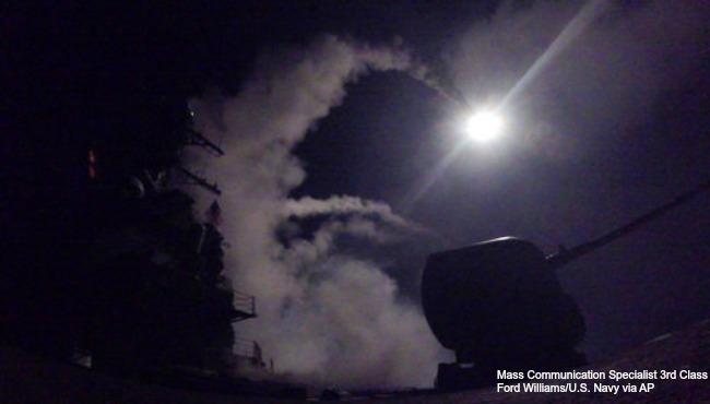 US Syria missile attack 040717_317921