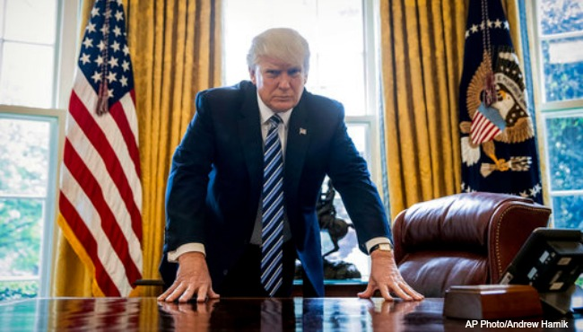 President Trump AP 042417_326396