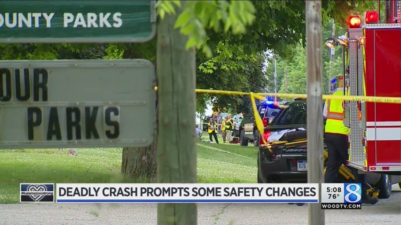 Kalamazoo cycling tragedy scene like 'a war zone'