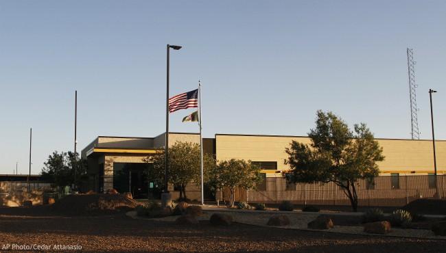 Border Patrol station Texas AP 062519