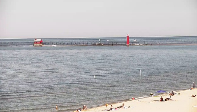 Lake Michigan at Grand Haven 062119