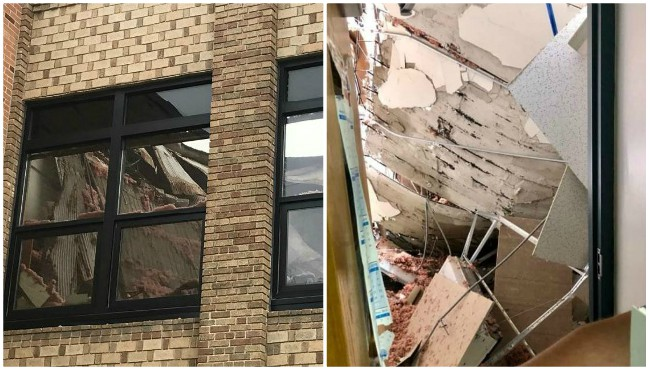 Lee middle and high school partial roof collapse collage 060619_1559833059677.jpg.jpg
