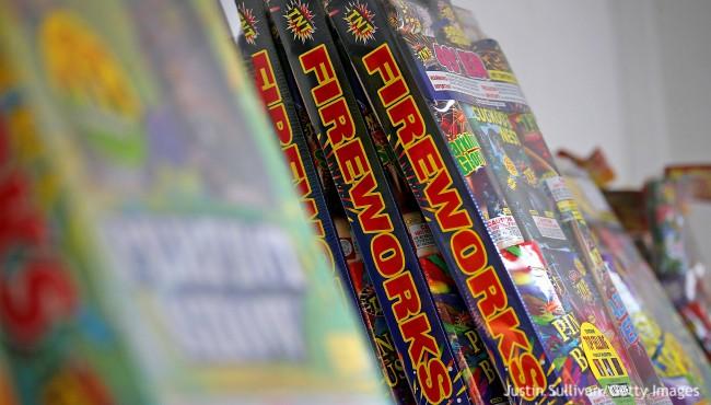 consumer fireworks