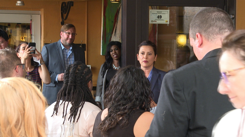 Gov. Gretchen Whitmer Pride Month event