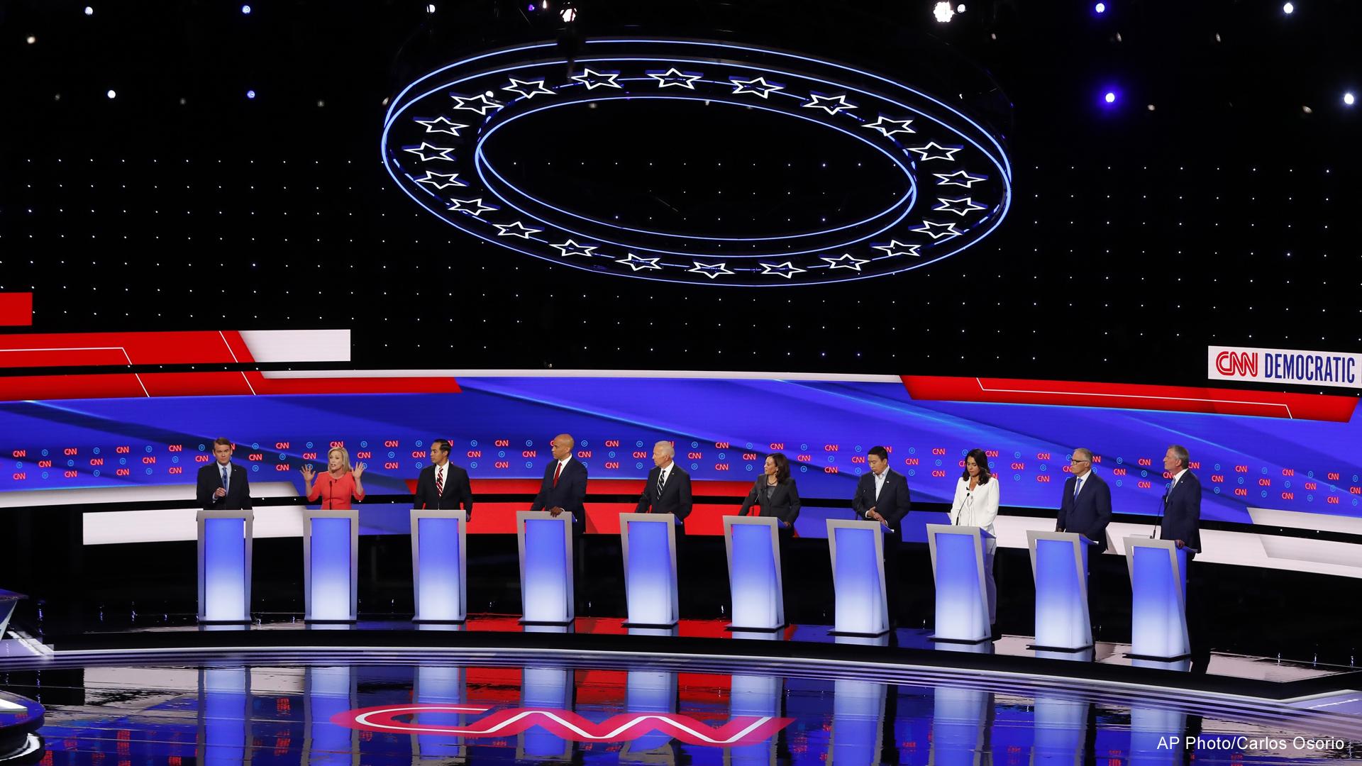 democratic presidential debate detroit