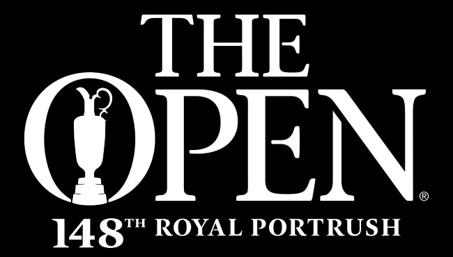 The British Open logo for 2019