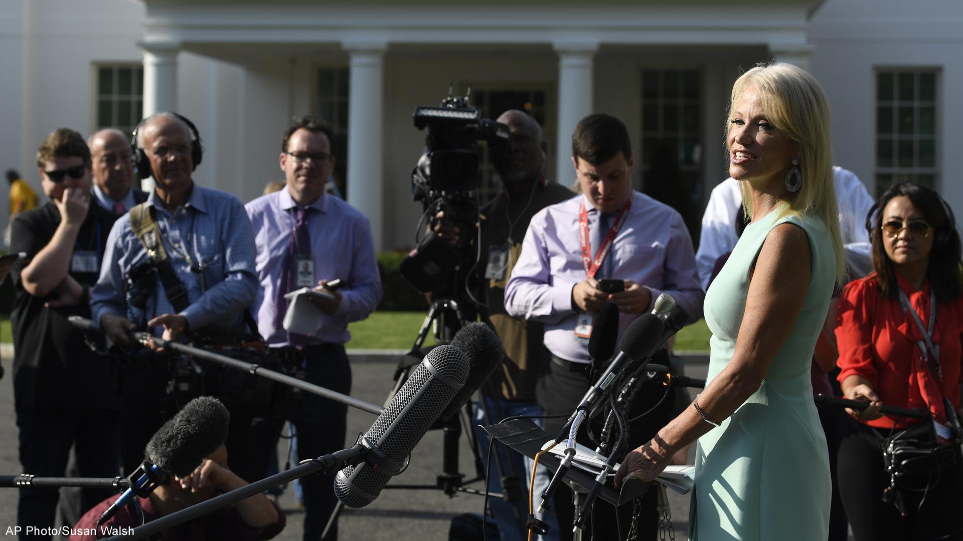 White House spokeswoman Kellyanne Conway
