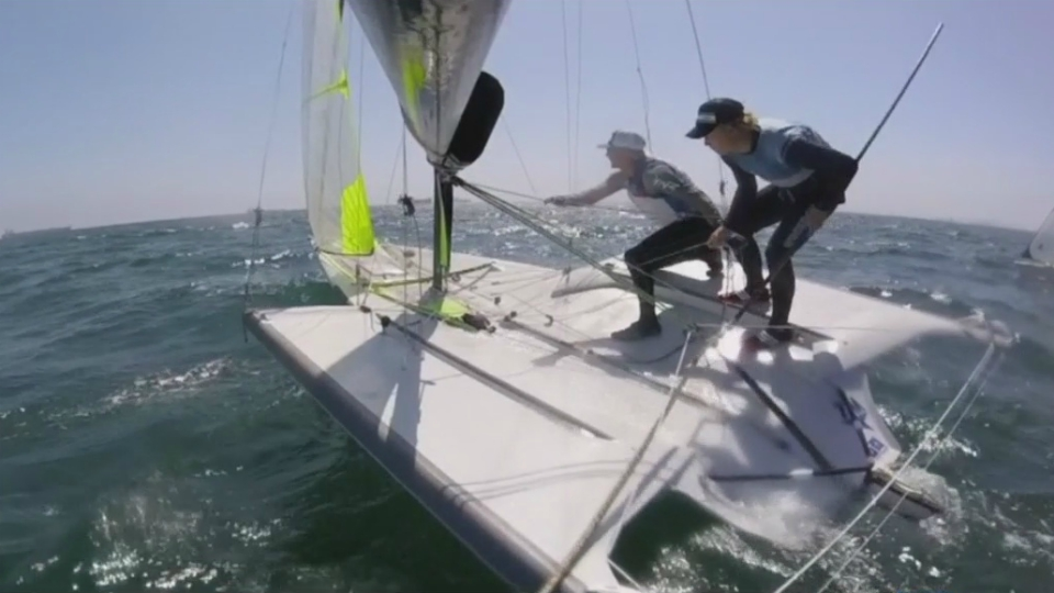 mitchell kiss ian barrows sailing