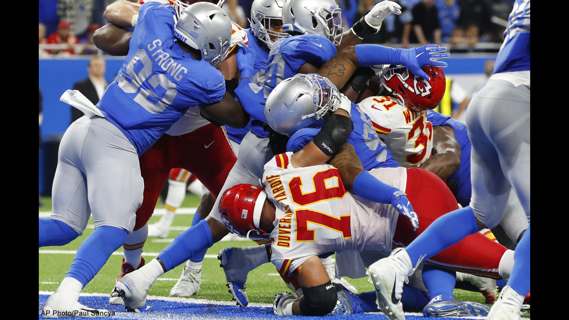 detroit lions kansas city chiefs 092919