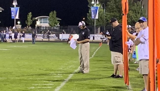 A photo of Rockford football coach Ralph Munger. (Sept. 20, 2019)