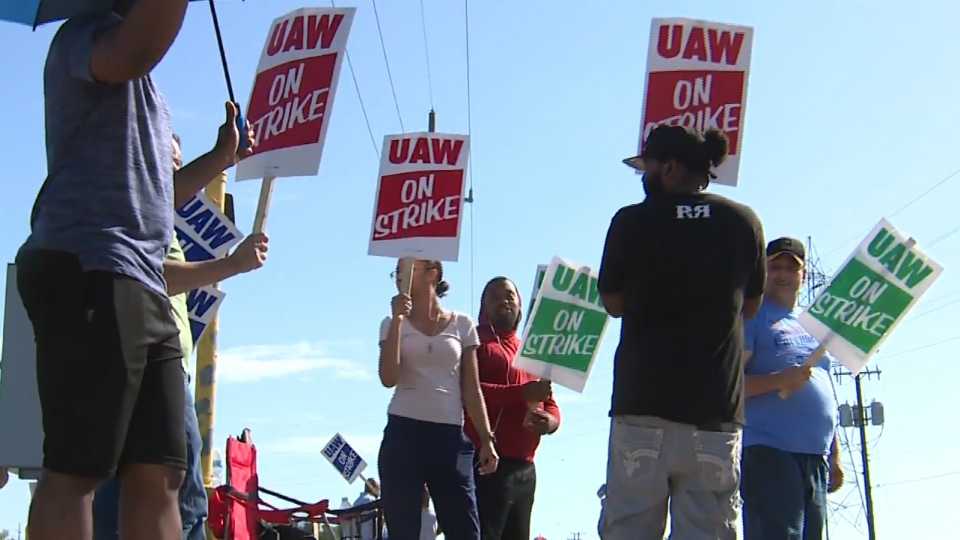 wyoming uaw gm strikers