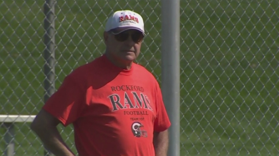 rockford football coach ralph munger