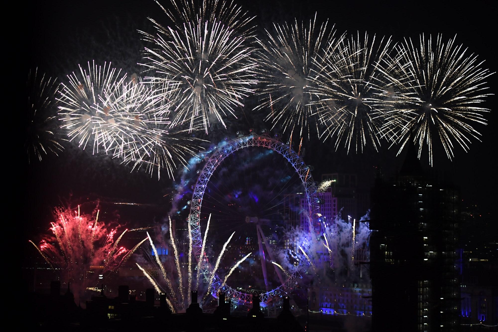 New Year's London