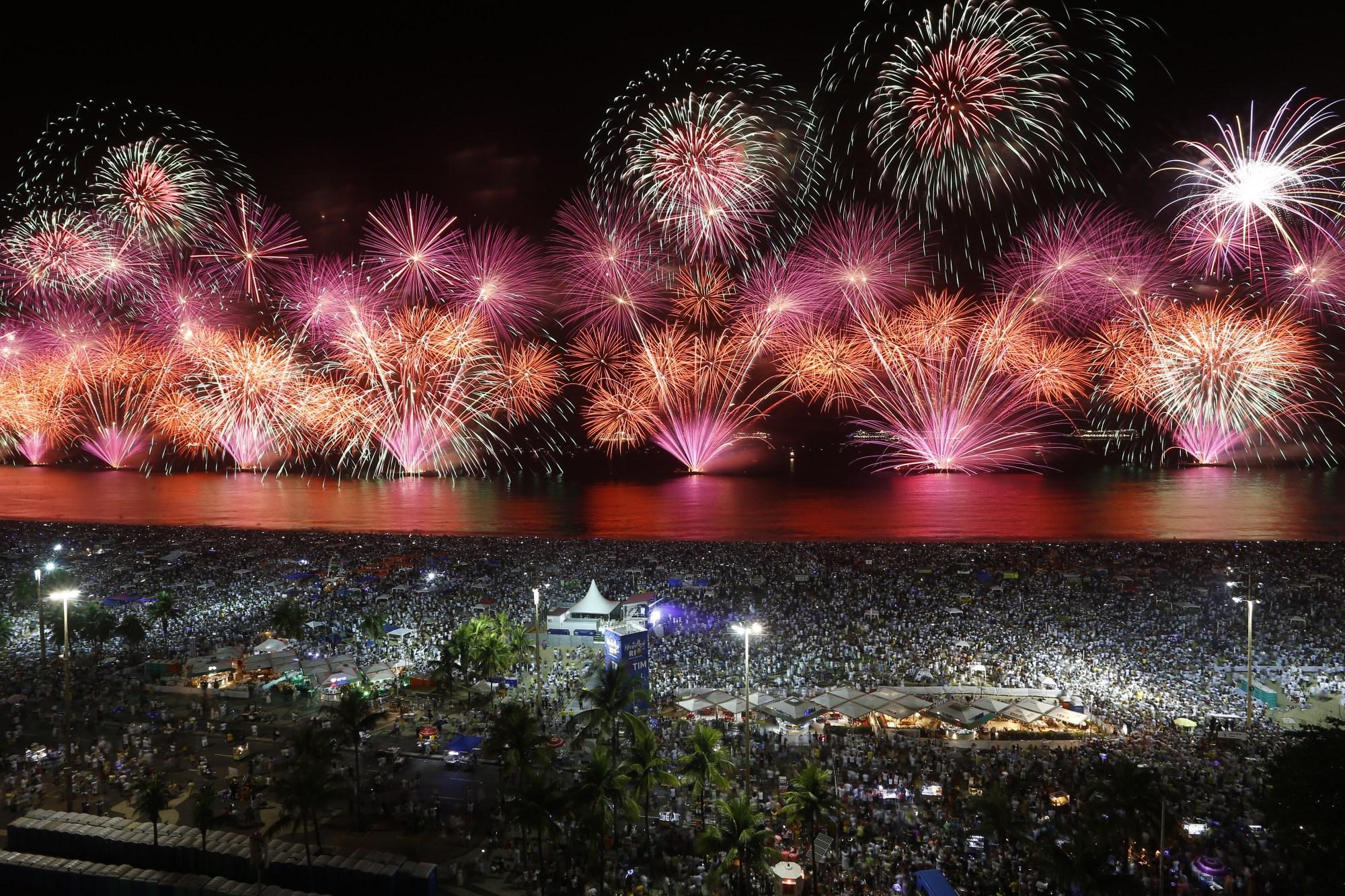 New Year Rio de Janeiro