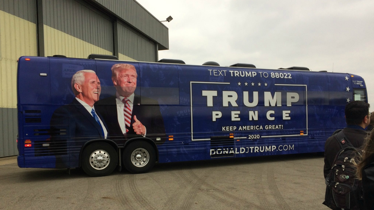 vice president mike pence bus tour
