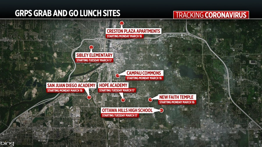 Schools open grab-and-go meal sites amid COVID-19 outbreak ...