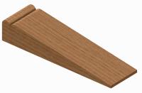 Wood door wedges | Timber door stops | Hardwood door wedge