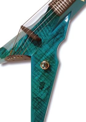 Turquoise Burl Exotic Top
