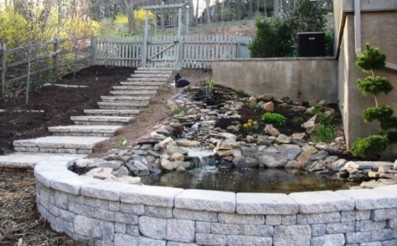 how to install precast concrete steps