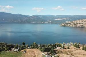 Okanagan Lake Drone Photo - Wood & Water Developments
