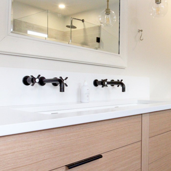 Organic Inspired Master Bathroom