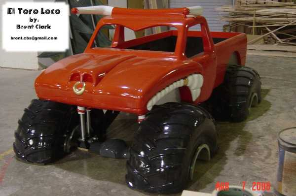 Toro Loco Monster Truck