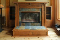 Arts And Crafts Fireplace   www.imgkid.com - The Image Kid ...
