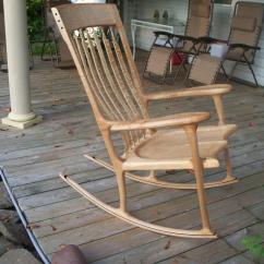 Sam Maloof Rocking Chair Plans Hal Taylor Shelby Williams Chairs Tiger Maple