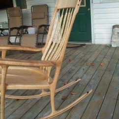Sam Maloof Rocking Chair Plans Hal Taylor Swivel Office Without Arms Tiger Maple
