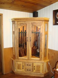 Wood Projects Gun Cabinet PDF Woodworking
