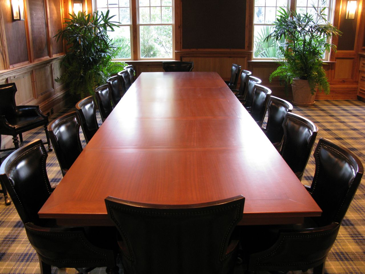 Expanding Conference Table