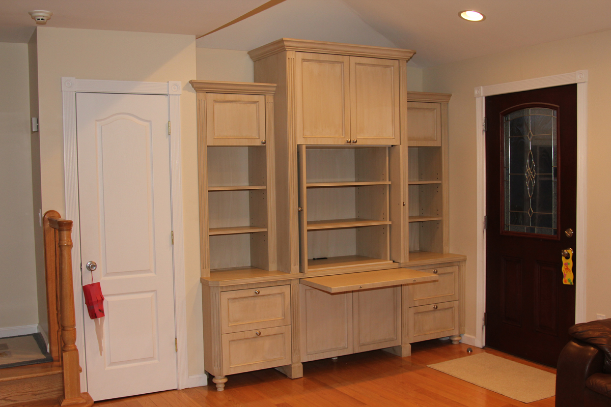 Builtin Wall Unit Home Office