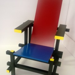 Red Blue Chair Design Through The Ages And