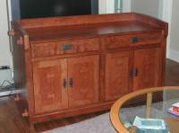 Arts and Crafts cabinet