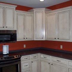 Glazed Kitchen Cabinets Antique Islands Maple Oatmeal Glaze