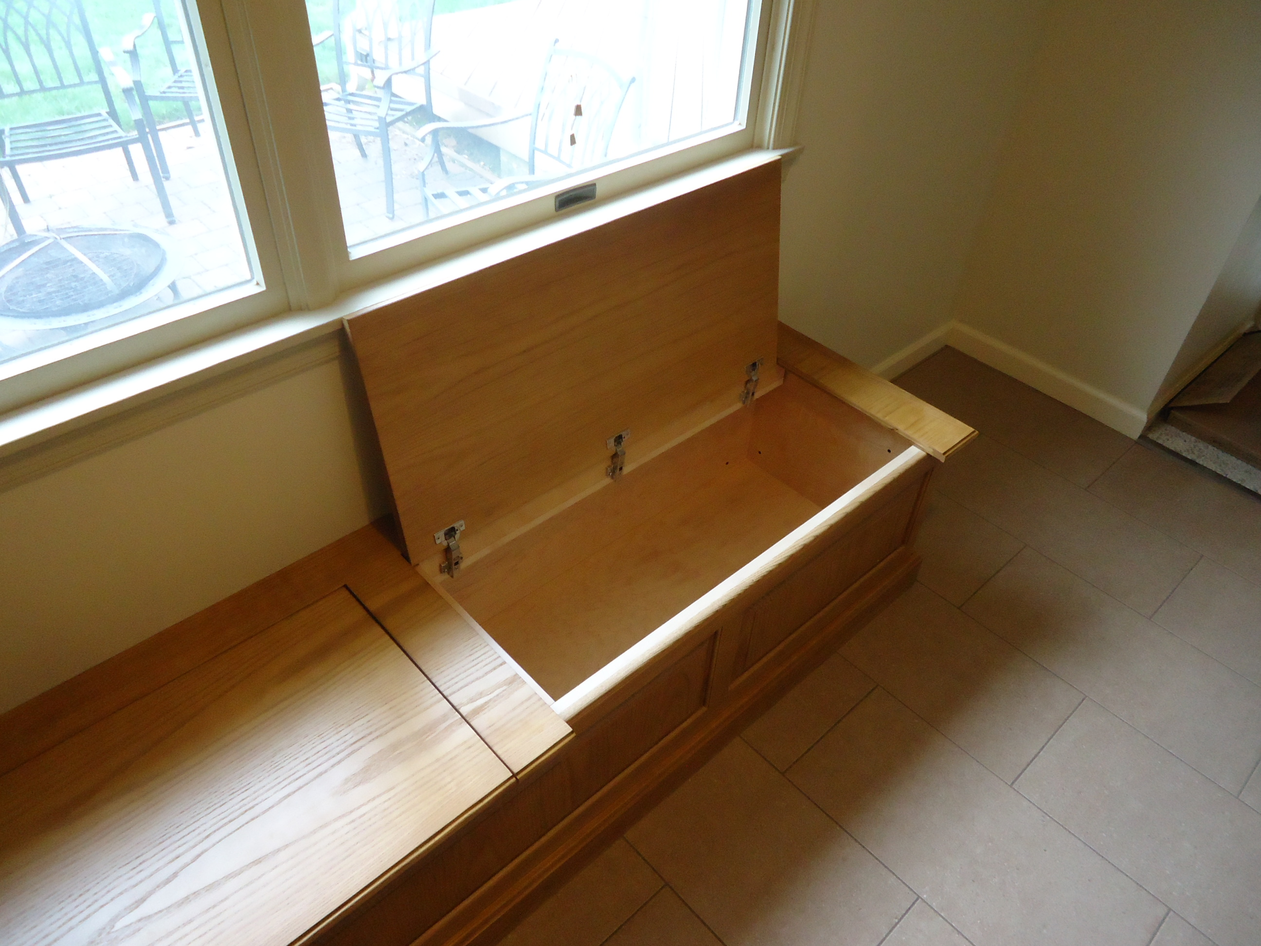 Hinged Workbench Top