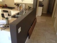 Installing walnut countertop on knee wall - WOODWEB's ...