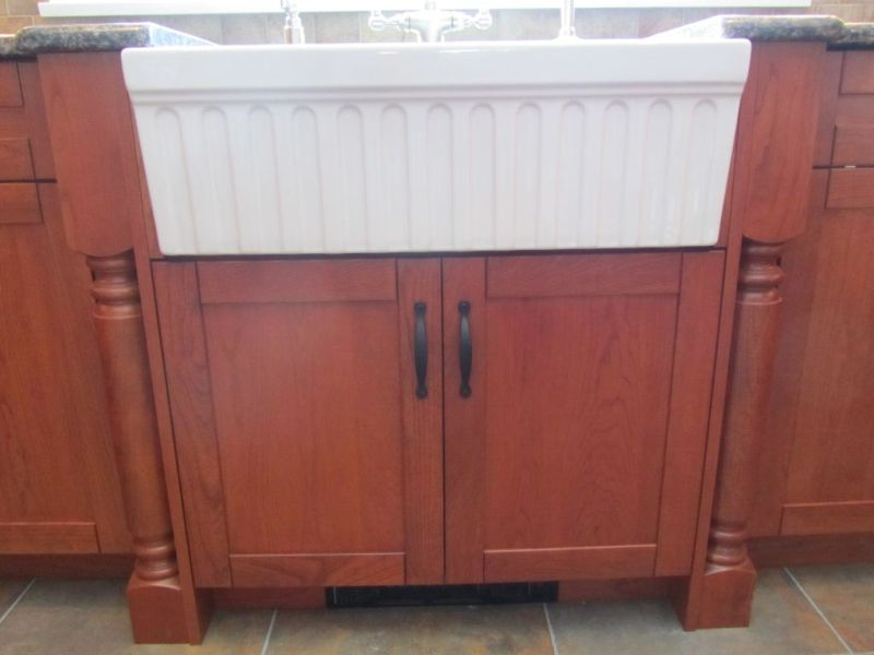 Cabinetry for Farmhouse Sinks