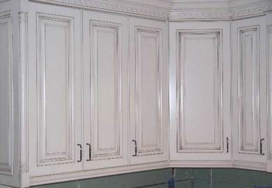 Glazing Kitchen Cabinets Gray