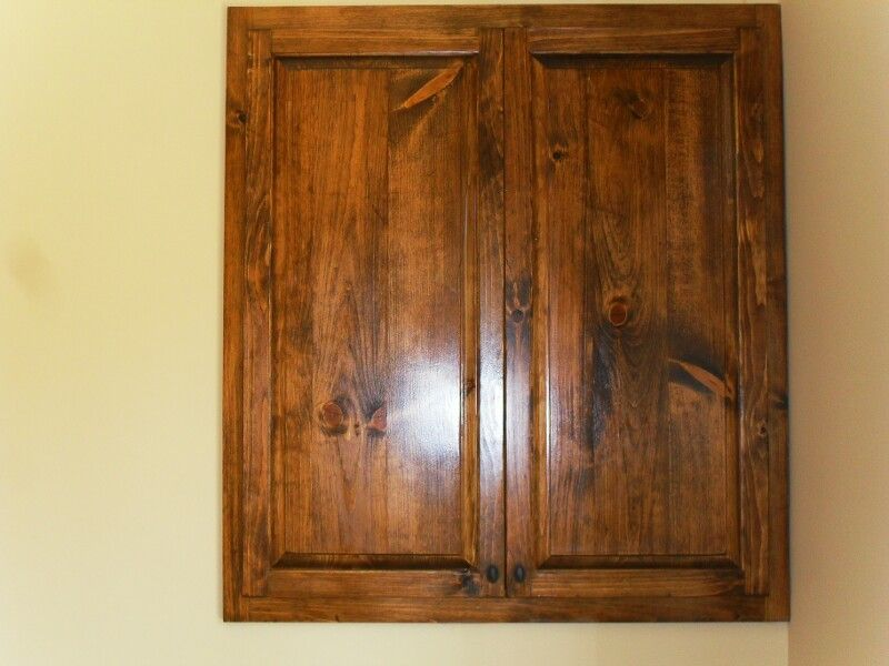 Cabinet Pocket Doors and Adjustable Shelves