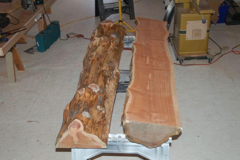 finishing an outdoor cedar