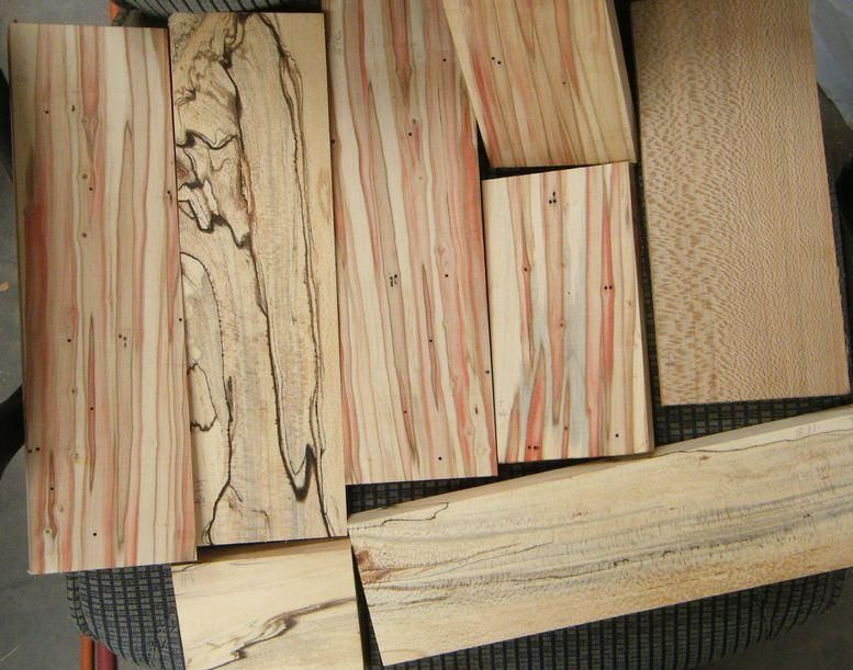Quarter Sawn Sycamore Lumber