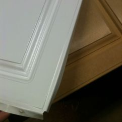 How Much Are Kitchen Cabinets Cabinet Painters Refinishing Failed Thermofoil Doors