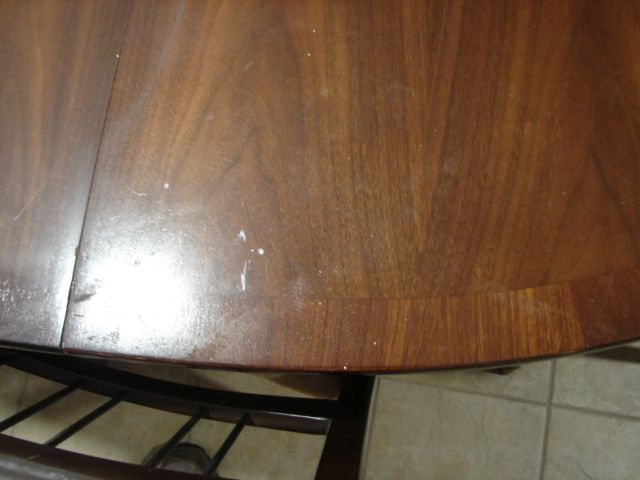 Removing Ring Marks in a Veneered Table Top