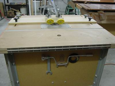 Shopnotes Router Table